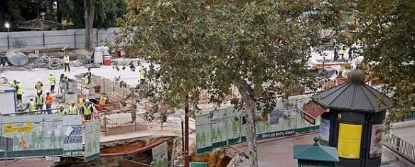 socavon-metro-de-sevilla. Foto El Pais