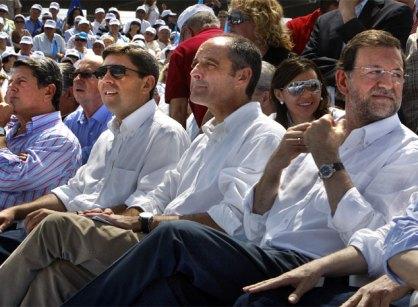 Rajoy, Camps y Trillo