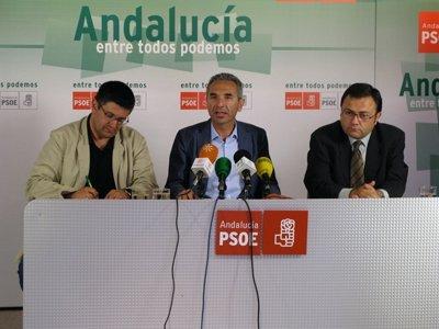 Rueda de prensa en Málaga
