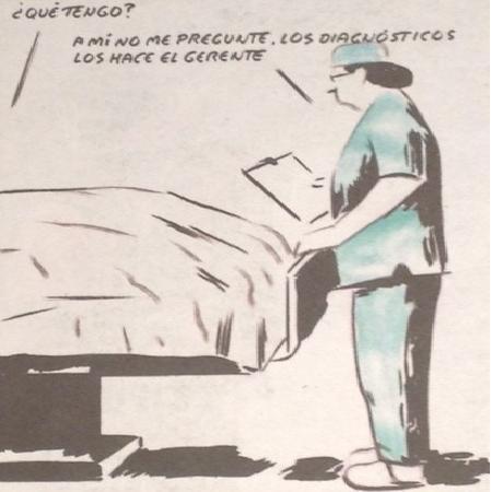 Efectos perversos de la privatización sanitaria - El Roto