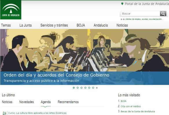 Portal Junta de Andalucía
