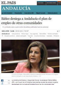 El País Plan de Empleo para Andalucía 2012