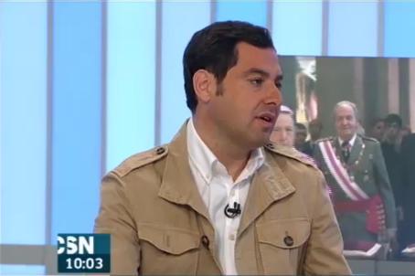 Moreno Bonilla en Canal Sur TV
