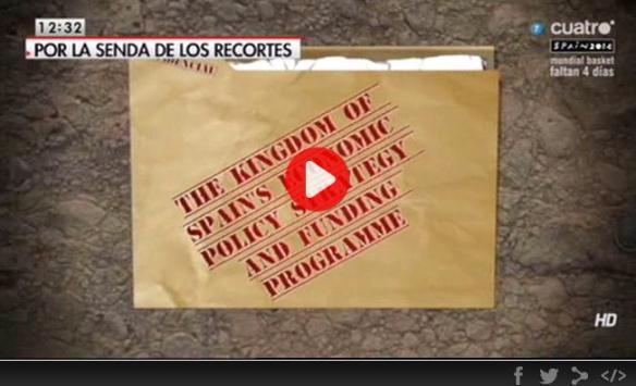 Vídeo Cuatro nuevos recortes