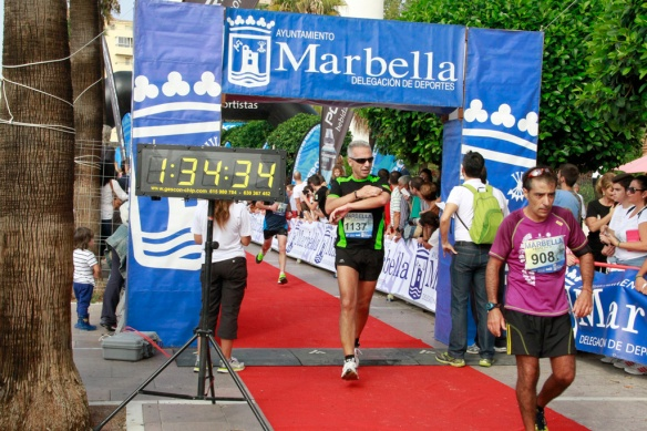 Media maratón Marbella 2014-2