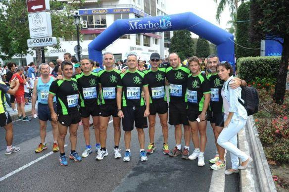 Media maratón Marbella 2014