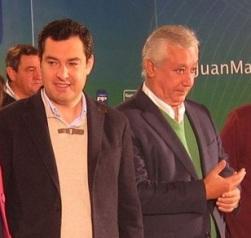 Moreno Bonilla y Javier Arenas