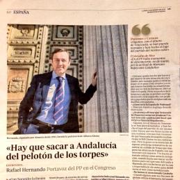 Entrevista Rafael Hernando ABC