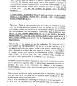 Denuncia San Juan del Puerto