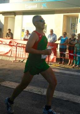 Miguel Ángel Vázquez en la carrera de Tesorillo
