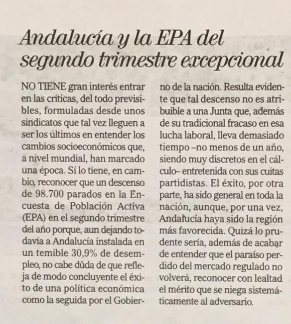El Mundo editorial EPA Andalucía