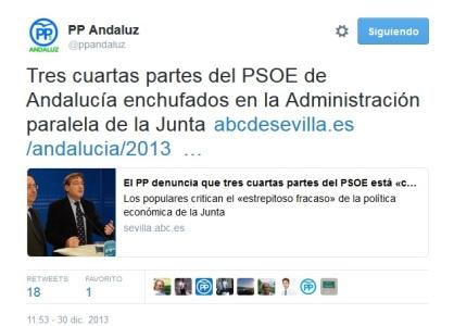 PP administración paralela 2013