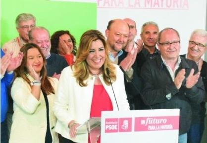 Susana Díaz Elecciones generales 20 de diciembre