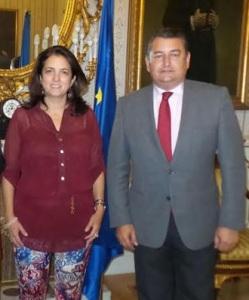 Rosana Navarro y Antonio Sanz