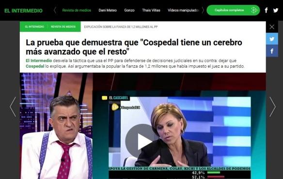 Cospedal se lía con la fianza de 1,2 millones impuesta al PP
