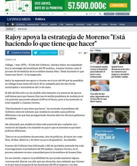 Rajoy sobre bloqueo investidura Susana Díaz