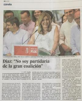 Susana Díaz El País 01_07_2016